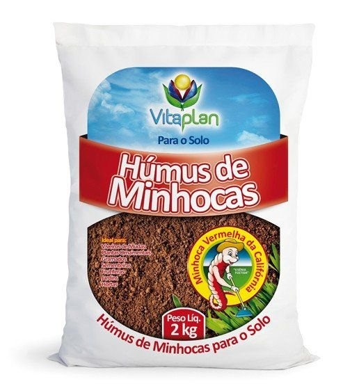 ADUBO HUMUS DE MINHOCA 2KG